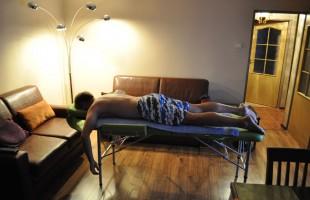 Masaż relaksacyjny w domu po treningu